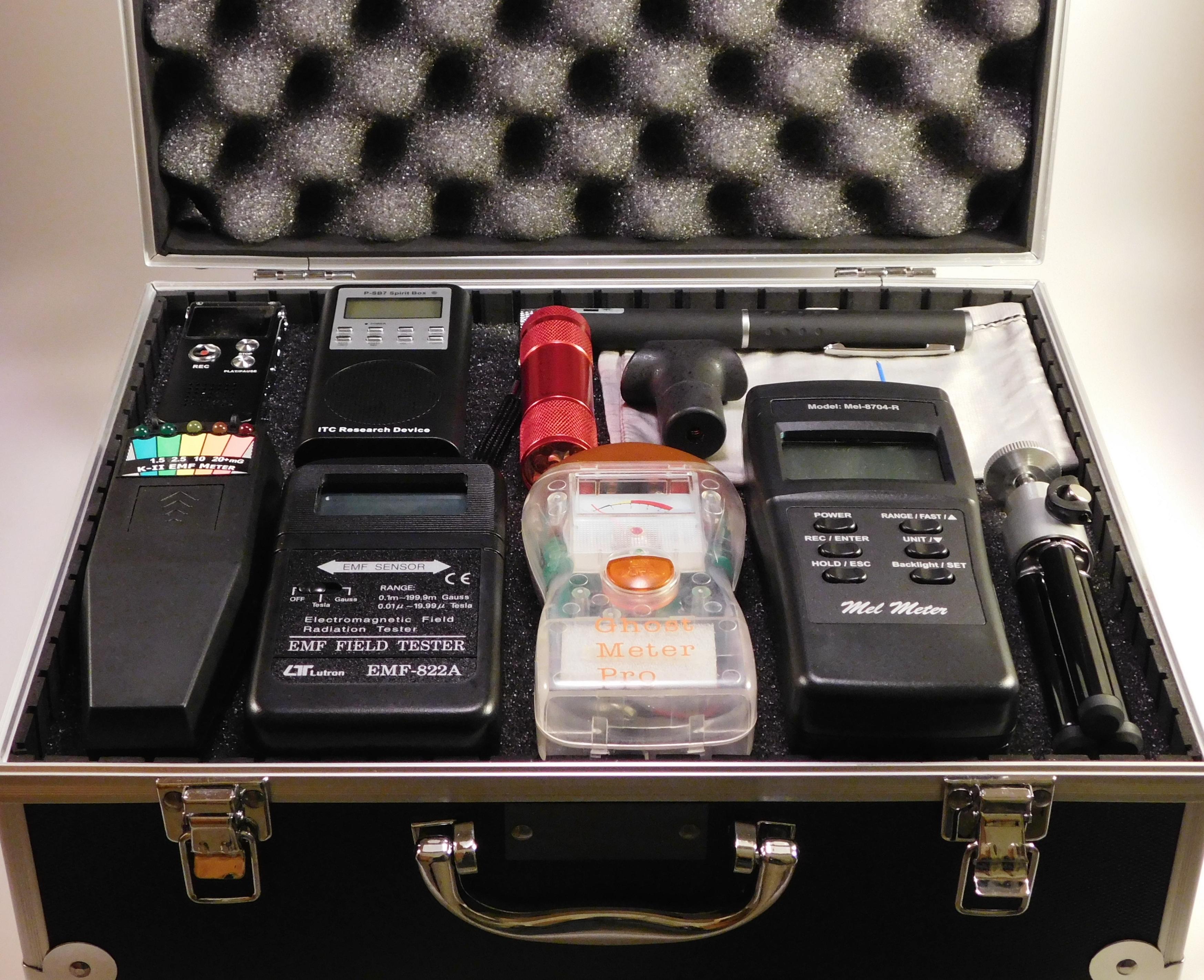 Paranormal Investigation UK - Know Your EMF Meter